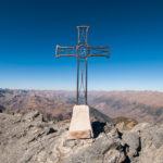 Croix sommitale du mont Mounier
