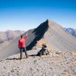 Mont Mounier - avant la montée finale