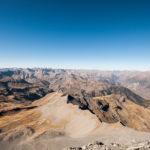 Vue depuis le sommet du mont Mounier