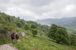 Vers le village de Coursegoules