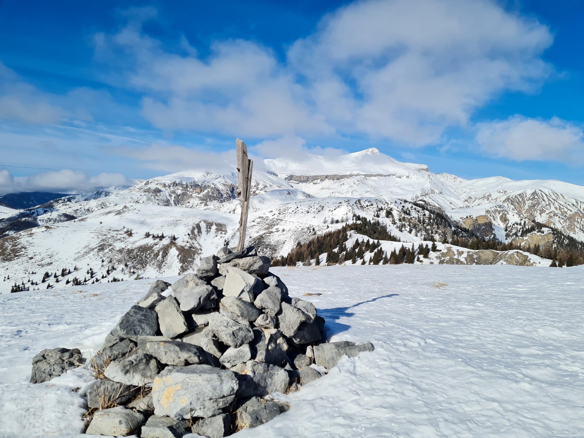 Le mont Brussière